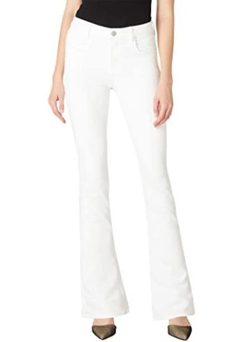 Hudson Jeans Holly High-Rise Flare Flap in Aurora