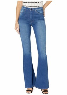 Hudson Jeans Holly High-Rise Flare in Truth Or Dare