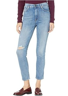Hudson Jeans Holly High-Rise Skinny Ankle Jeans in Stay