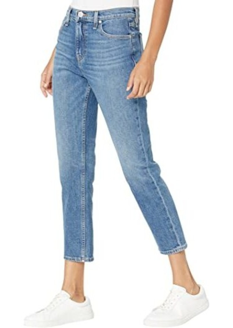 Hudson Jeans Holly High-Rise Straight Crop in Right Now