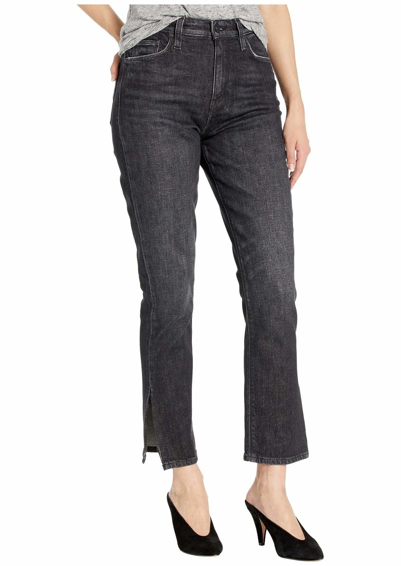 Hudson Jeans Holly High-Waist Straight Crop in Isolated