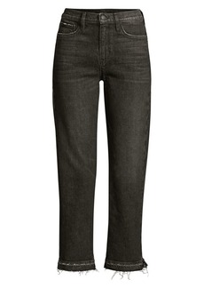 Hudson Jeans Holly Straight Cropped Jeans