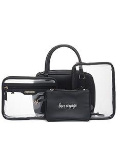 Hudson Jeans Hudson + Bleecker Preto Voyager Toiletry Bag