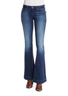 Hudson Jeans Hudson Ferris Low-Rise Flare-Leg Jeans