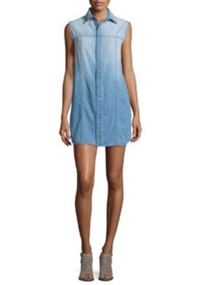Hudson Jeans Hudson Jules Brooks Sleeveless Shirtdress