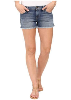 Hudson Amber Raw Hem Shorts in Dogwood