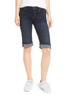 Hudson Jeans Hudson Amelia Cuffed Denim Knee Shorts (Dhyana)