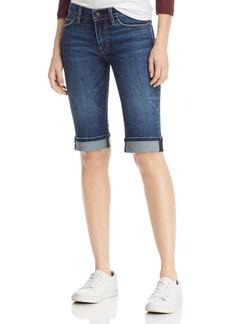 Hudson Jeans Hudson Amelia Knee Cuffed Denim Shorts in Vagabond