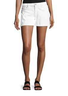 Hudson Jeans Hudson Asha Mid-Rise Cuffed Denim Shorts