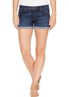 Hudson Jeans Hudson Asha Mid-Rise Cuffed Five-Pocket Shorts in Patrol Unit 2