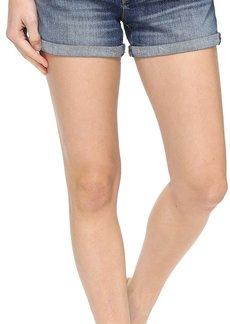 Hudson Jeans Hudson Asha Mid-Rise Cuffed Shorts in Coalition