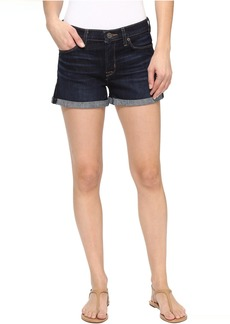 Hudson Jeans Asha Mid-Rise Cuffed Shorts in Novice 3