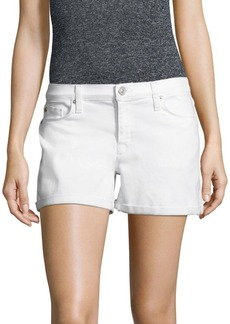Hudson Jeans Asha Solid Cotton Shorts