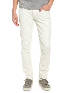 Hudson Jeans Hudson Axl Skinny Fit Jeans (Dirty White)