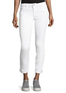 Hudson Jeans Hudson Bacara Low-Rise Slim-Leg Cropped Jeans