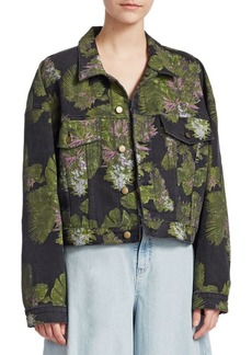 Hudson Jeans Baja East Rei Crop Jacket