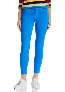 Hudson Jeans Hudson Barbara High-Rise Ankle Skinny Jeans in Cobalt
