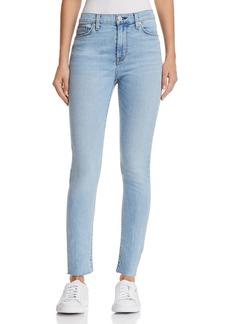 Hudson Barbara High Rise Ankle Skinny Jeans in Gemini