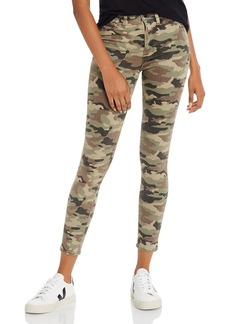Hudson Jeans Hudson Barbara High Rise Ankle Skinny Jeans in Worn Camo