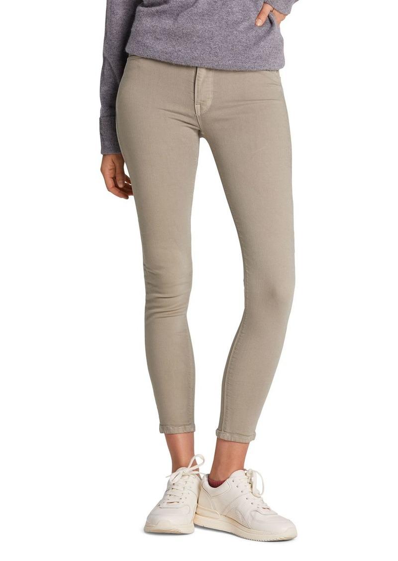 Hudson Jeans Hudson Barbara High-Rise Crop Super-Skinny Jeans in Laurel
