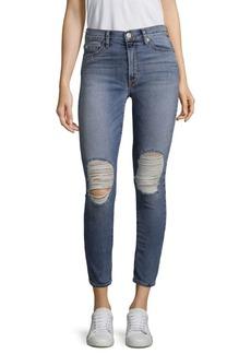 Hudson Barbara High-Waist Ripped Jeans