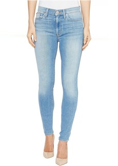 Hudson Barbara High Waist Super Skinny Ankle Five-Pocket Jeans in Reality