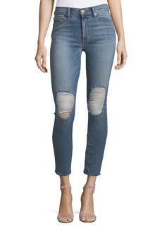Hudson Barbara High-Waist Super-Skinny Ankle Jeans