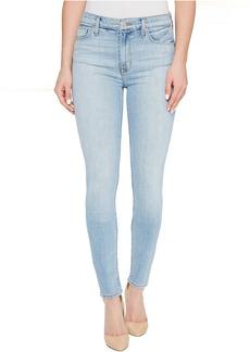 Hudson Barbara High Waist Super Skinny Five-Pocket Jeans in Seventeen
