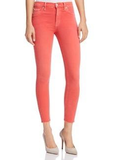 Hudson Barbara High Waist Super Skinny Jeans in Worn Explosive