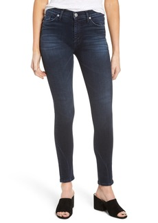 Hudson Barbara High Waist Super Skinny Jeans (Night Ryder)