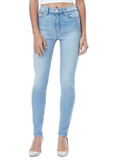 Hudson Barbara Super-Skinny Fade Jeans