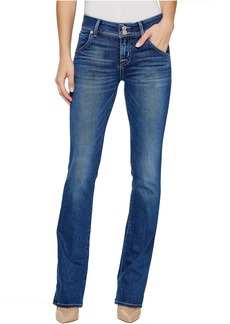 Hudson Beth Mid-Rise Baby Boot Flap Jeans in Roll with It