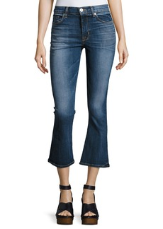 Hudson Jeans Brix High-Rise Crop Flared Jeans
