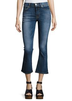 Hudson Jeans Hudson Brix High-Rise Crop Flared Jeans