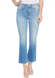 Hudson Jeans Hudson Brixx High-Rise Crop Flare Five-Pocket Jeans in Stunner