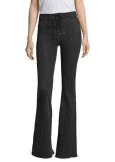 Hudson Jeans Bullocks High-Rise Flared Jeans