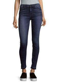 Buttoned Denim Jeans