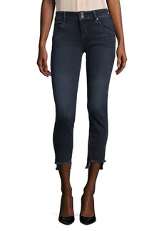 Hudson Jeans Cat Mid-Rise Skinny Jeans