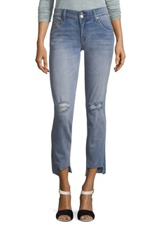 Hudson Cat Ripped Skinny Jeans