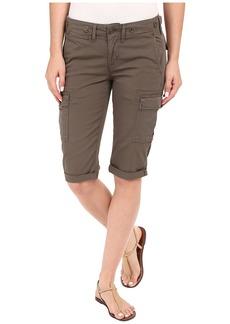 Hudson Jeans Hudson Charlie Cuffed Cargo Shorts in Brunswick Green
