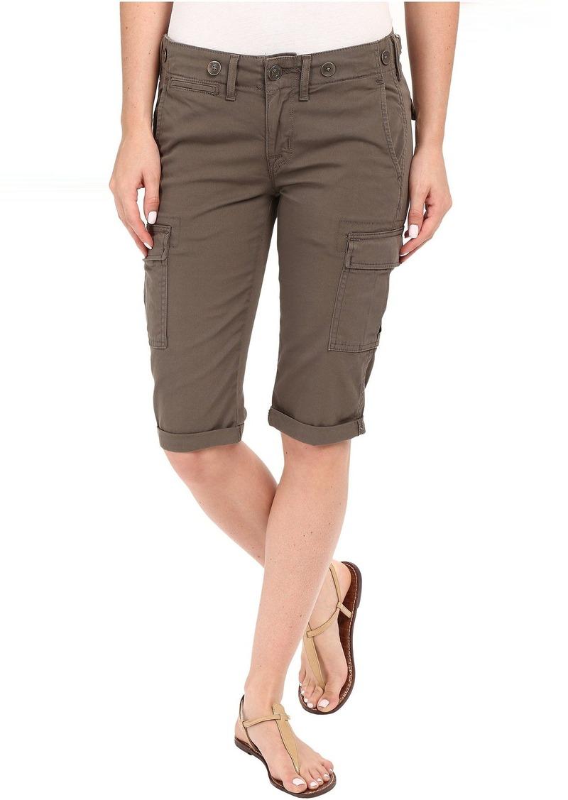 Hudson Jeans Charlie Cuffed Cargo Shorts in Brunswick Green