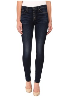 Hudson Ciara Exposed Button Skinny High-Rise in Calvary