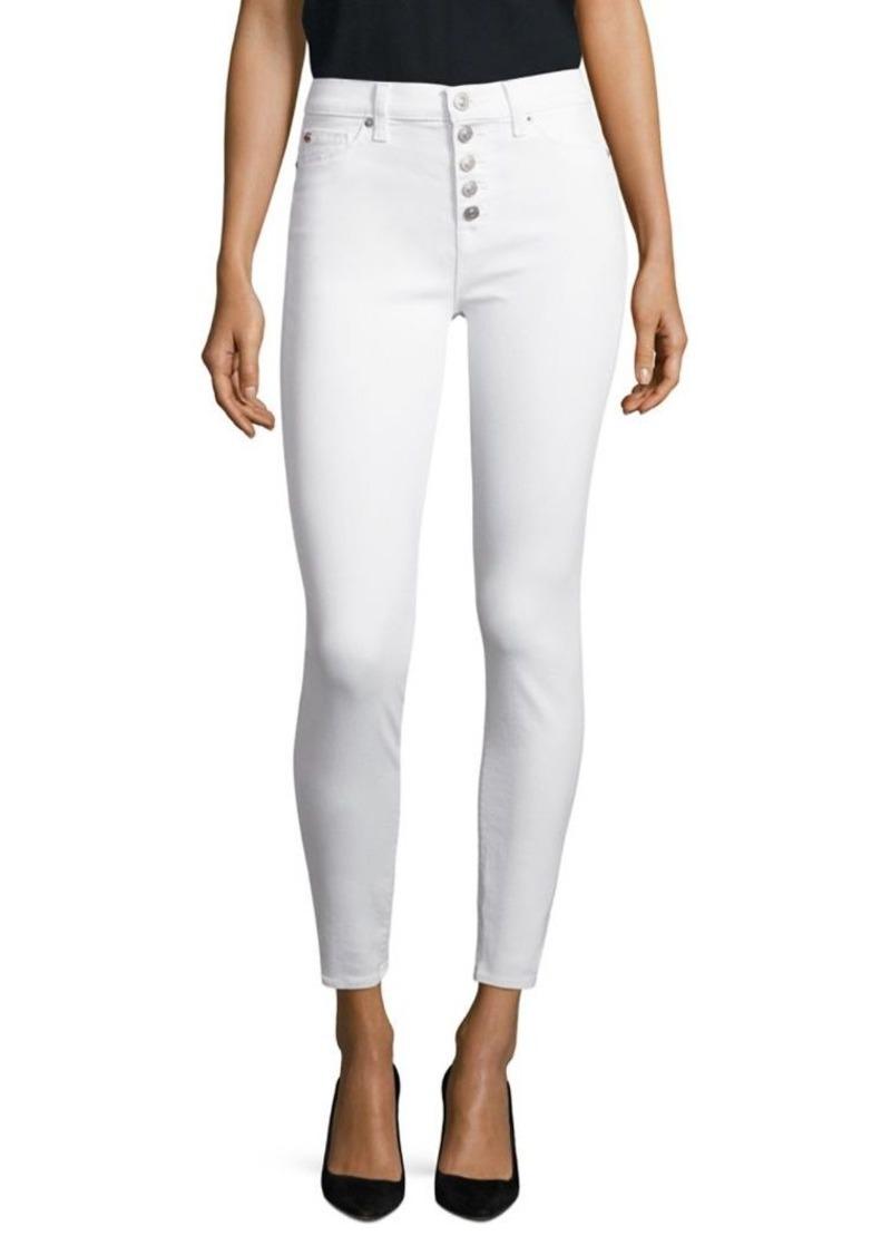 Hudson Jeans Hudson Ciara High-Rise Ankle Skinny Jeans