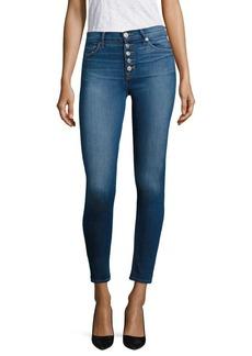 Hudson Ciara High-Rise Cropped Super Skinny Jeans