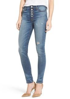 Hudson Ciara High Waist Distressed Skinny Jeans (Disharmony)