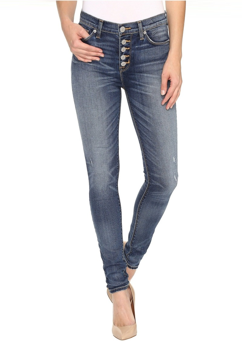 0ceb891a238 On Sale today! Hudson Jeans Hudson Ciara High-Rise Exposed Buttons ...