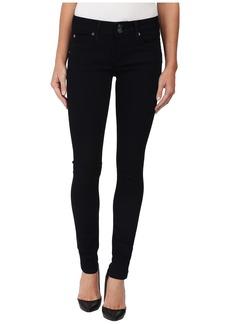 Hudson Collin Mid Rise Skinny Jeans in Zerene