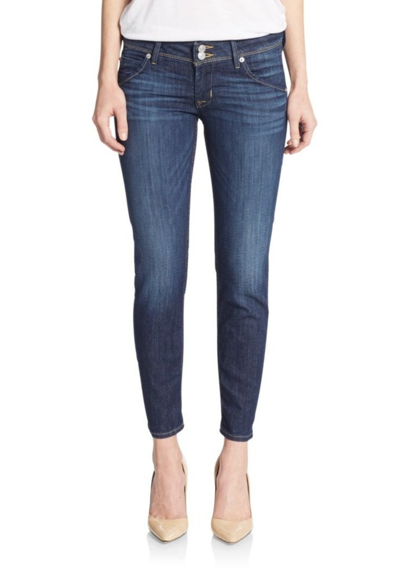 Hudson Jeans Collin Skinny Cropped Jeans