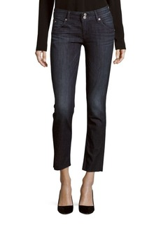 Hudson Collin Skinny-Fit Cropped Jeans
