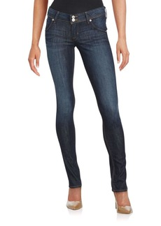 Hudson Collin Solid Skinny Jeans